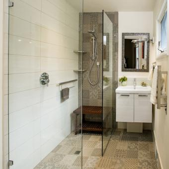 Curb Free Accessible Shower