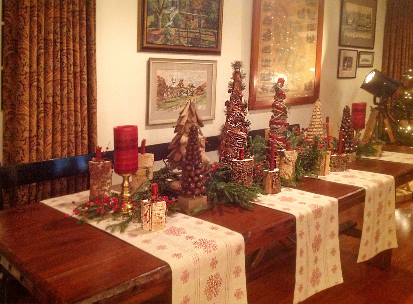 Deck The Halls Tree Optional Hearth And Hedgerow